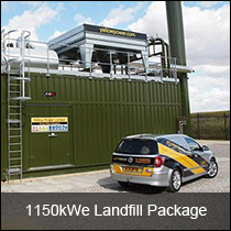 Case Studies - 1150kWe Landfill