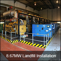 Case Studies - 8.67MW Landfill Installation