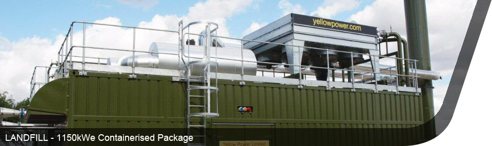 4.5 Landfill - 1150kWe Containerised Package