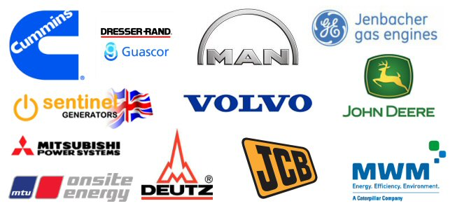 Supported Brands - Generator Spares